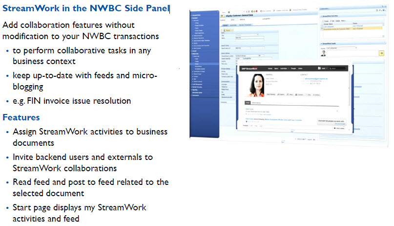 StreamWorks NWBC Side Panel