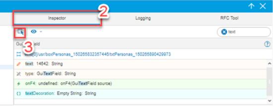 SAP Screen Personas Scripting - Object Inspector